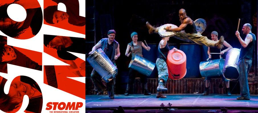Stomp at Popejoy Hall