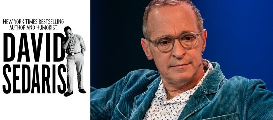 David Sedaris at Popejoy Hall