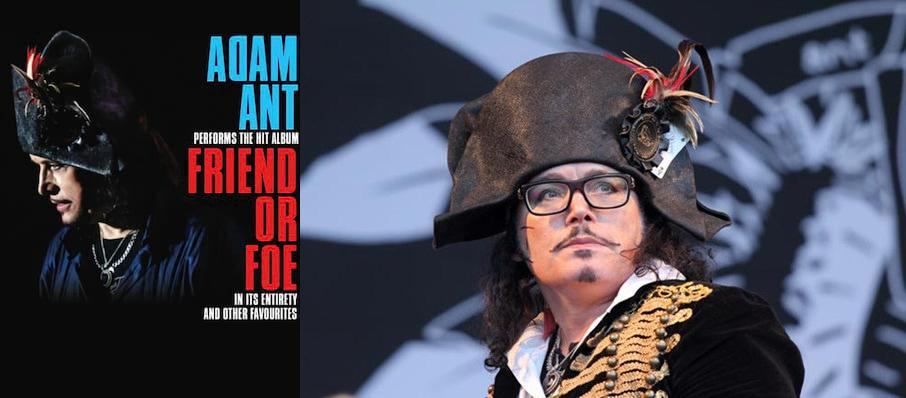 Adam Ant at Kimo Theatre