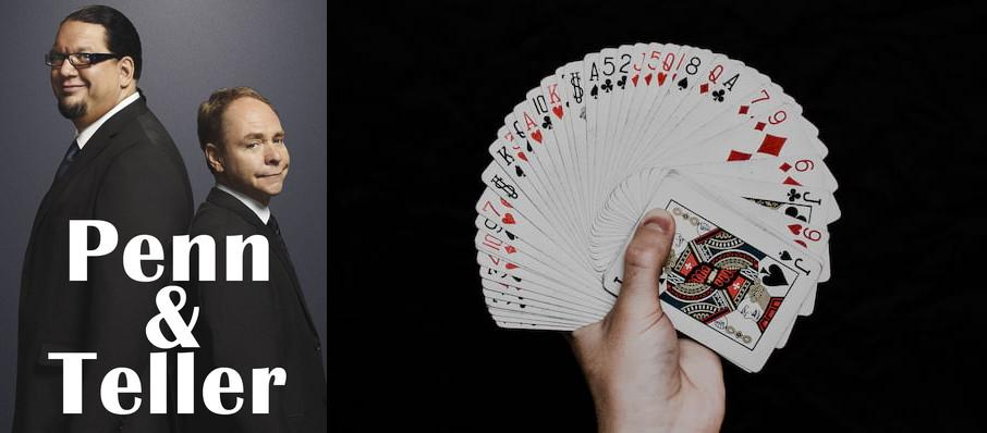 Penn & Teller at Route 66 Casino