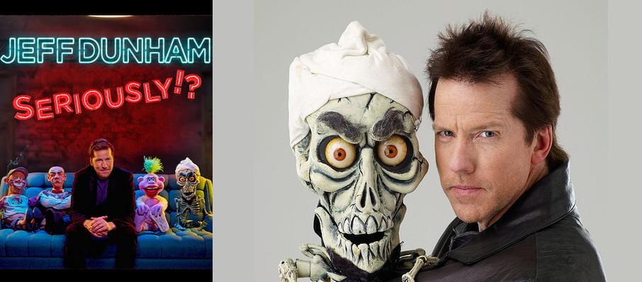 Jeff Dunham at Santa Ana Star Center
