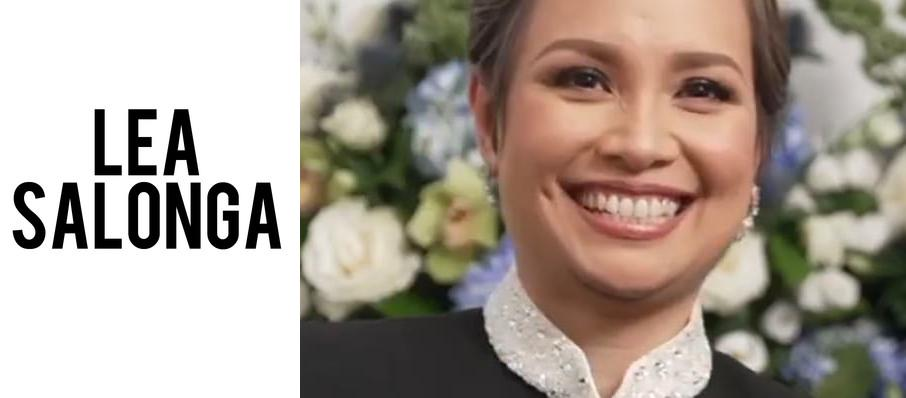 Lea Salonga at Popejoy Hall