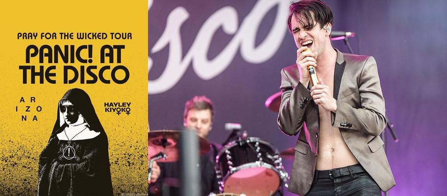 Panic! at the Disco at Tingley Coliseum