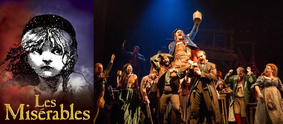 Les Miserables at Popejoy Hall