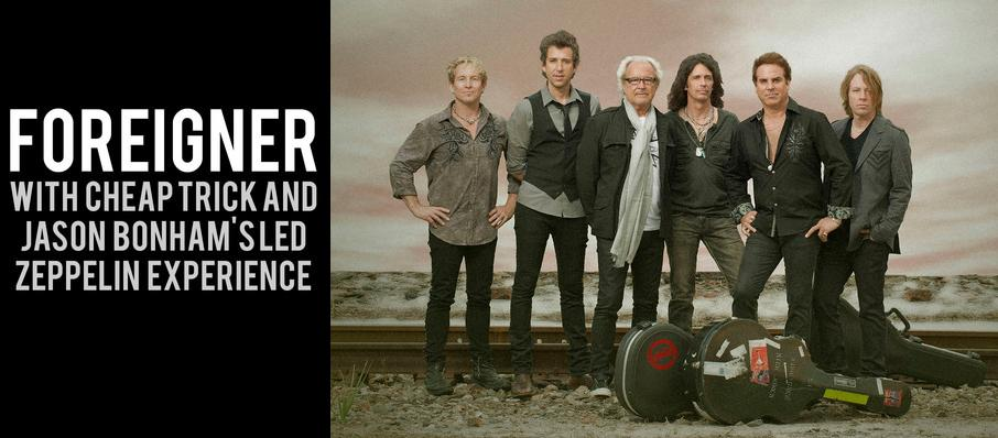 Foreigner with Cheap Trick and Jason Bonhams Led Zeppelin Experience at Isleta Amphitheater