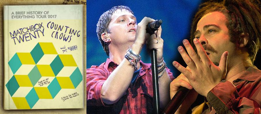 Matchbox Twenty and Counting Crows at Isleta Amphitheater