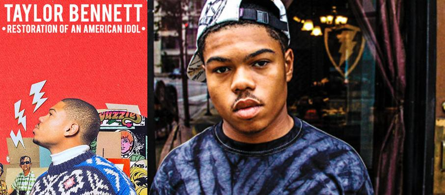 Taylor Bennett at Launchpad
