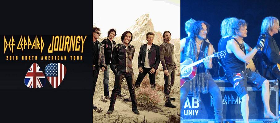 Journey and Def Leppard at Isleta Amphitheater