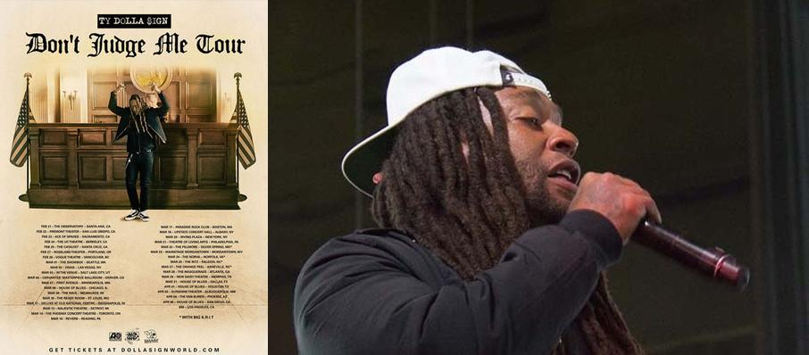 Ty Dolla Sign at Sunshine Theater