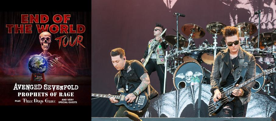 Avenged Sevenfold and Prophets of Rage at Isleta Amphitheater