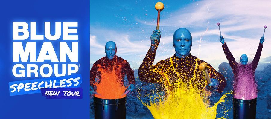 Blue Man Group at Popejoy Hall