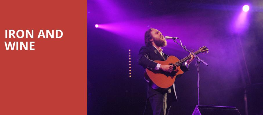 Iron and Wine, The El Rey Theater, Albuquerque