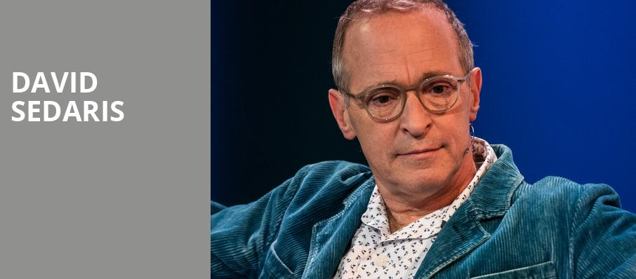 David Sedaris, Popejoy Hall, Albuquerque