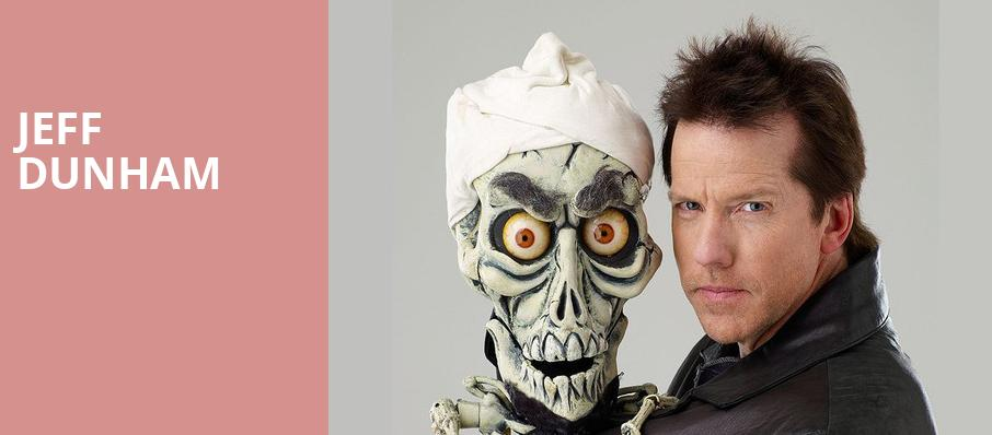 Jeff Dunham, Santa Ana Star Center, Albuquerque