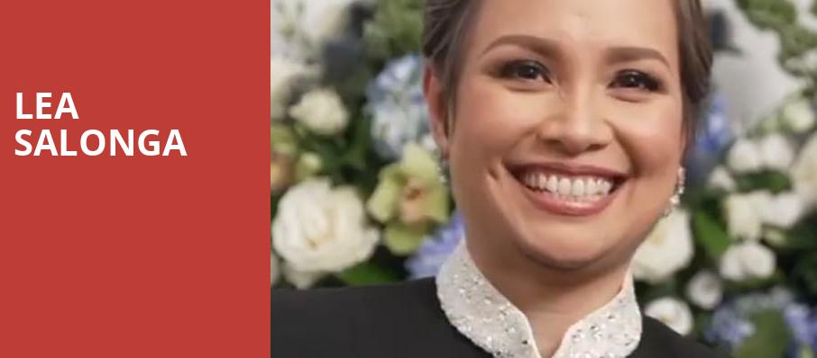 Lea Salonga, Popejoy Hall, Albuquerque