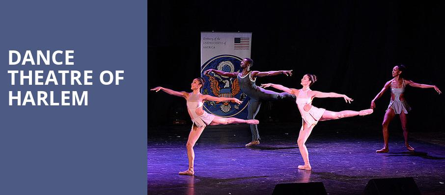 Dance Theatre of Harlem, Popejoy Hall, Albuquerque