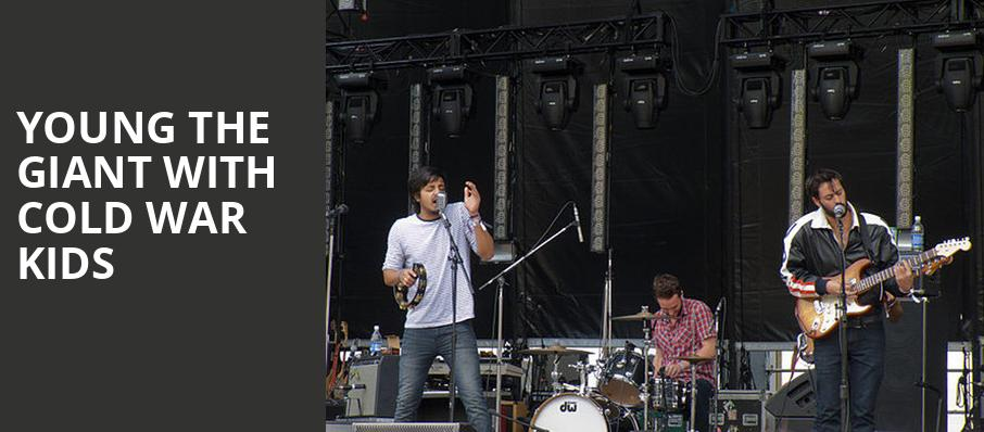 Young the Giant with Cold War Kids, Villa Hispana at Expo New Mexico, Albuquerque
