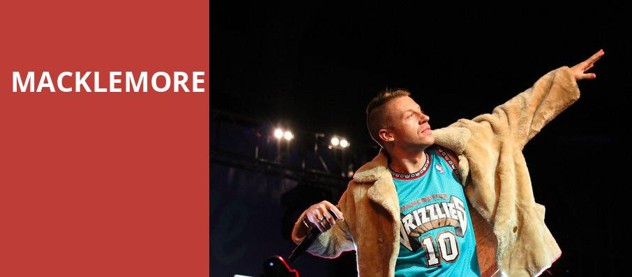 Macklemore, The El Rey Theater, Albuquerque