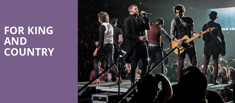For King And Country, Tingley Coliseum, Albuquerque