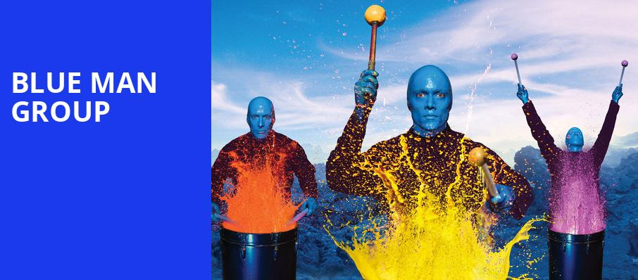 Blue Man Group, Popejoy Hall, Albuquerque