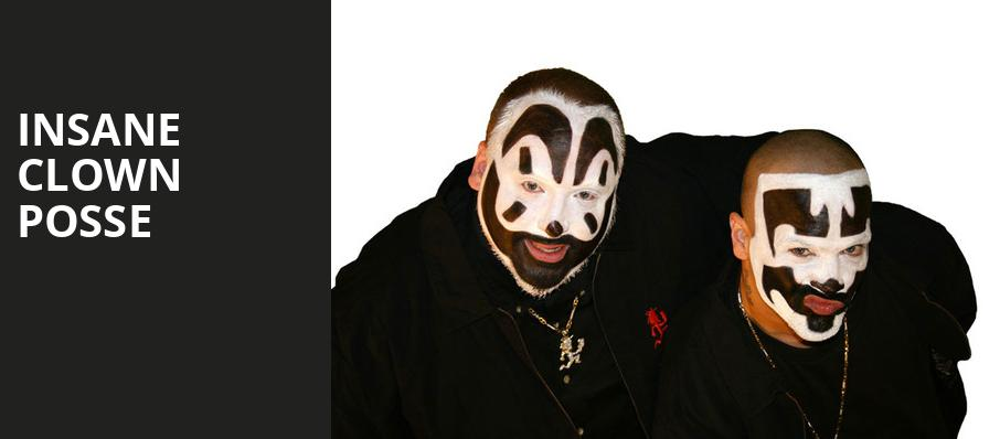 Insane Clown Posse, Sunshine Theater, Albuquerque