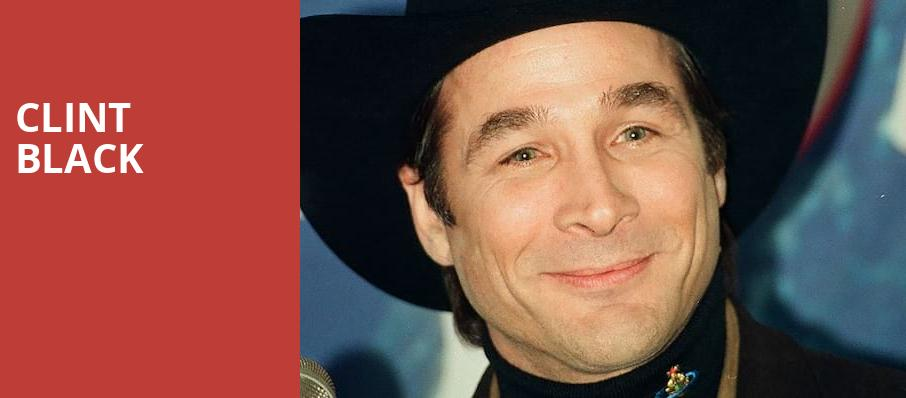 Clint Black, Sandia Casino Amphitheater, Albuquerque