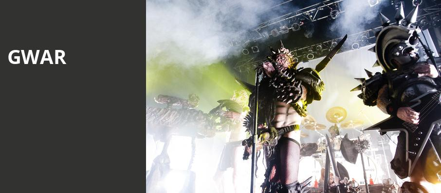 GWAR, Sunshine Theater, Albuquerque