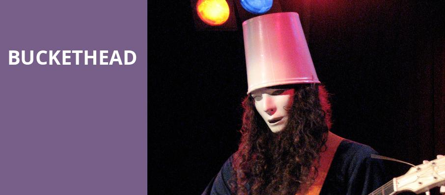 Buckethead, Sunshine Theater, Albuquerque